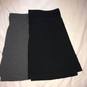 "🦋 2 Merona Skirts 19"" long"